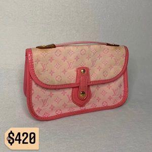 ✨✨✨✨SOLD✨✨✨✨Louis Vuitton Mini Lin Handbag Mary